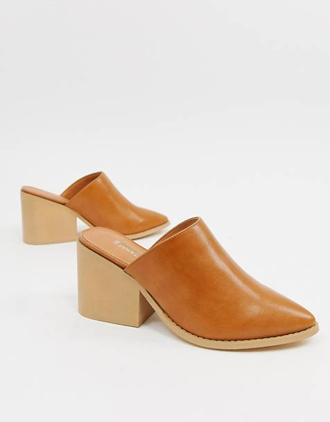 Matt & Nat block heel mules
