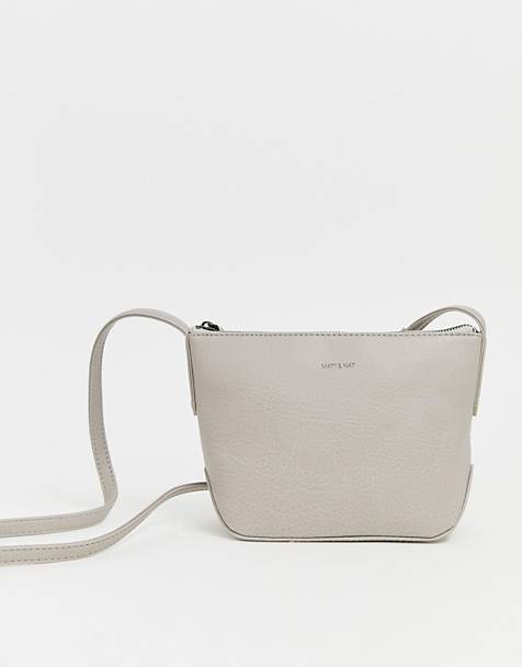 Matt & Nat cross body bag in cement