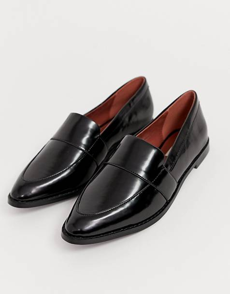 Matt & Nat flat loafers in black