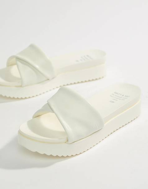 Matt & Nat Flatform Sliders