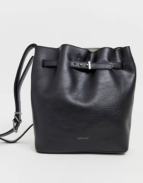 Matt & Nat lexu bucket bag in black