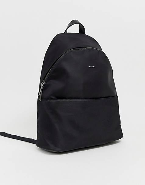 Matt & Nat nylon backpack in black