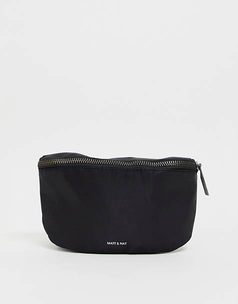 Matt & Nat nylon bum bag in black