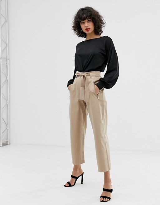 Max & Co wide leg utility pants