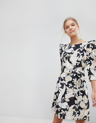 Max&Co Floral Mini Dress