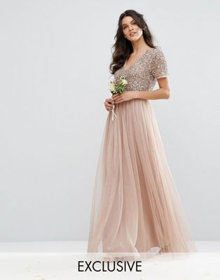 Maxi dress for wedding facebook pages