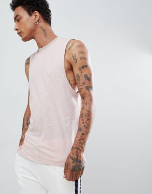 Mennace Nude Side Signature T-shirt