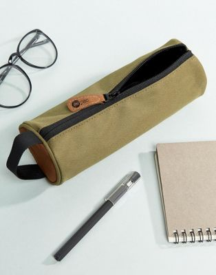 Mi-Pac Classic Pencil Case In Khaki