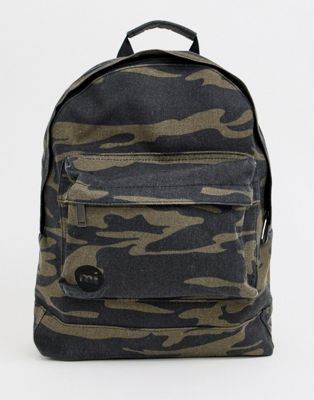 Afbeelding 1 van Mi-Pac - Premium canvas rugzak met camouflageprint
