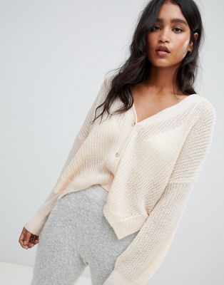 Micha Lounge Oversized Cardigan With Side Splits