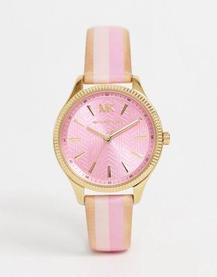 Image 1 of Michael Kors MK2809 Lexington leather watch 36mm