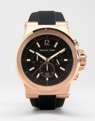 Michael Kors MK8184 Oversized Dylan Silicone Chronograph Watch