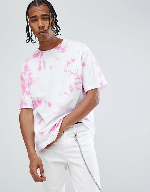 Image 1 of Midnight Surf Tie Dye T-Shirt