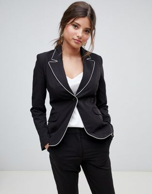 Millie Mackintosh tipping co-ord blazer