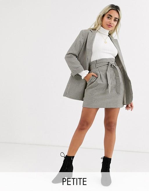 Minifalda A Cuadros De New Look Petite mvsWq