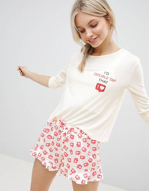 MinkPink – Double-Tap Shorts-Set