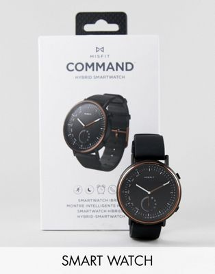 Misfit MIS5019 Command Hybrid Smart Watch In Black