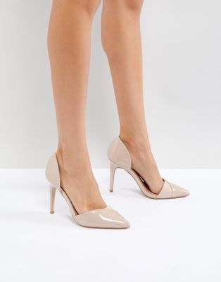 Image 1 of Miss KG Two Part Detail Point High Heels