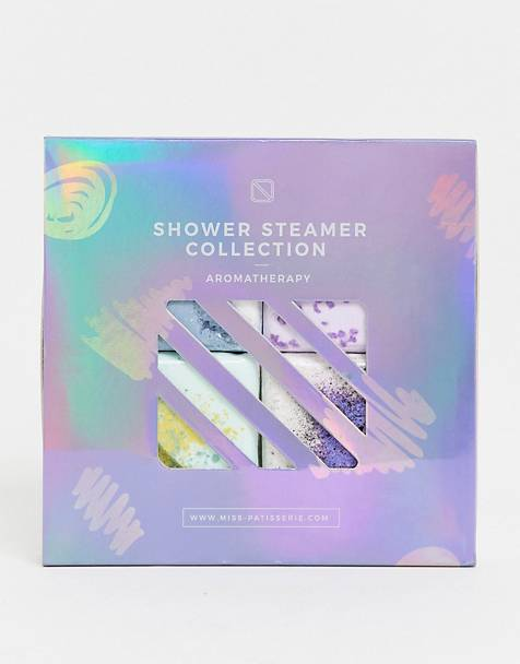 Miss Patisserie - Shower Steamer Selection Box - Destress Sleep Breathe and Uplift