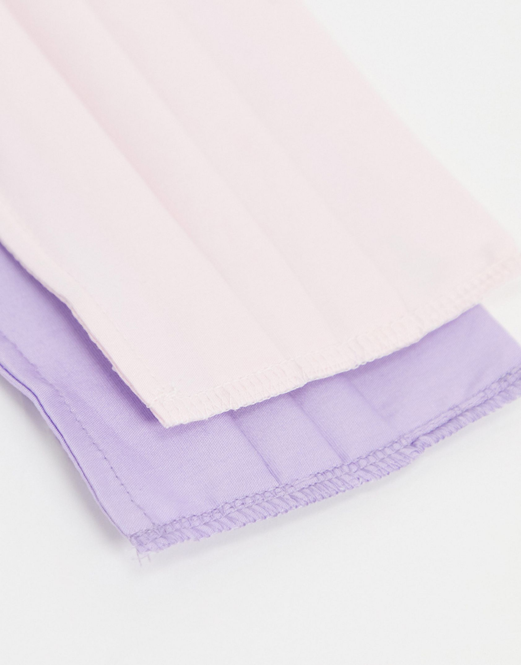 Miss Selfridge 2 pack face covering in lilac and pink - ASOS Price Checker