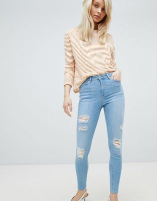 Miss Selfridge Distressed Lizzie Jeans