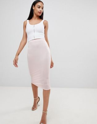 Missguided - Gonna midi in jersey