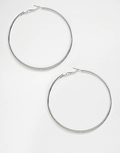 Missguided hoop earrings