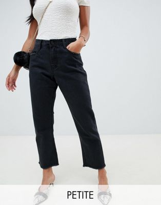 Missguided Petite Wrath Straight Leg Jeans