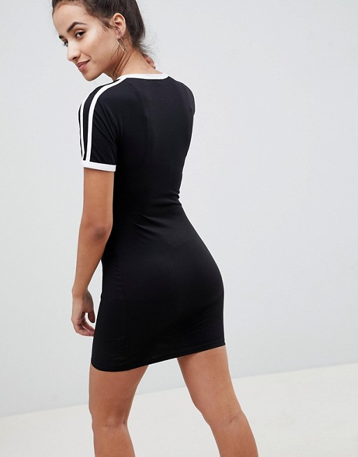 a1e49ad95 Missguided Stripe Bodycon T-Shirt Dress | ASOS