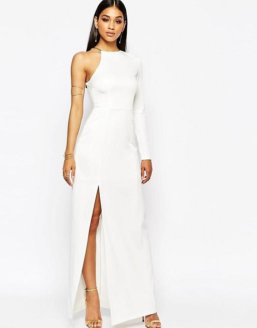 38fae171a8 Missguided Thigh High Split Maxi Dress