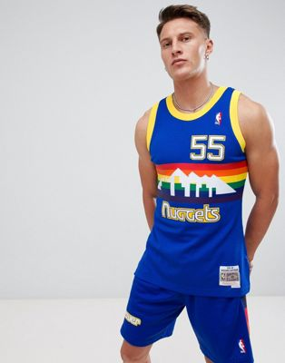 Mitchell & Ness NBA Denver Nuggets swingman singlet