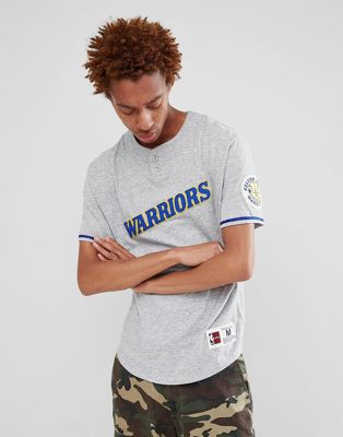 Mitchell & Ness NBA Golden State Warriors retro t-shirt in grey