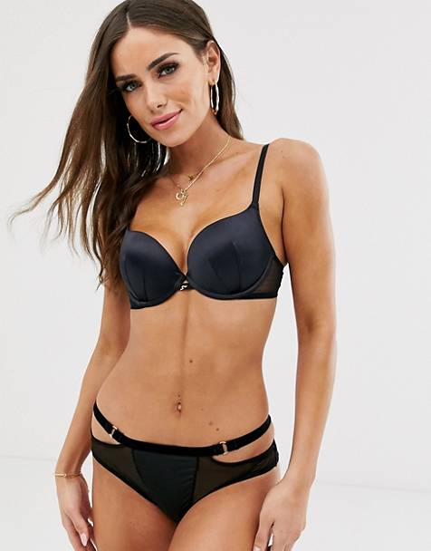 Modelo escotado de lunares Everyday de Gossard