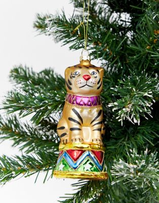 Monki Cute Tiger Christmas Decoration