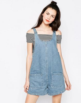 Image 1 of Monki Denim Playsuit