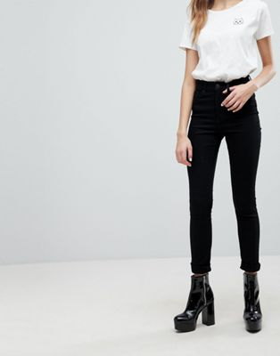 Image 1 of Monki Oki Premium Skinny High Waisted Jeans