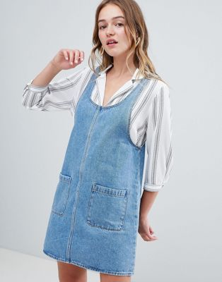 Monki – Pinny – Jeanskleid