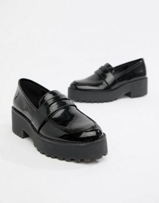 Monki – Schwarze Loafer