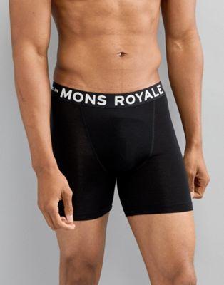 Mons Royale Hold Em Trunks in Merino