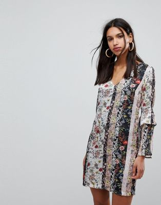 Morgan Mix n Match Floral Shift Dress