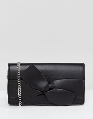 Morgan Tie Detail Chain Strap Bag