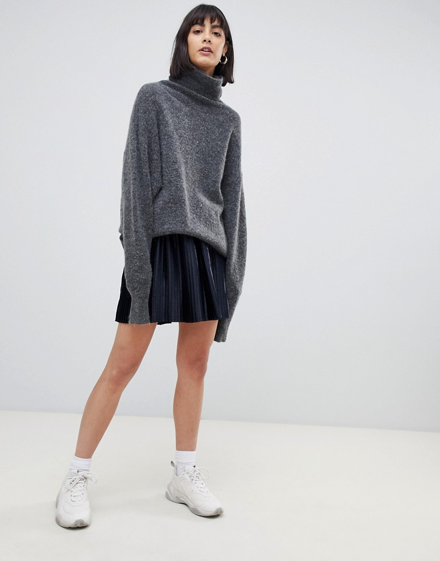 Moss Copenhagen   Maglione Oversize In Misto Mohair by Asos