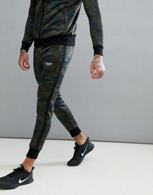 Muscle Monkey - Skinny joggingbroek in camouflageprint