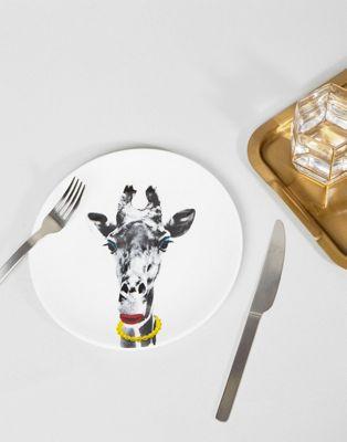 Mustard - Wild Giraffe - Piatto da 23 cm