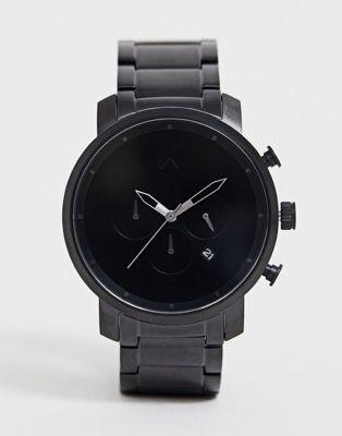MVMT – Chrono – Schwarze Armbanduhr