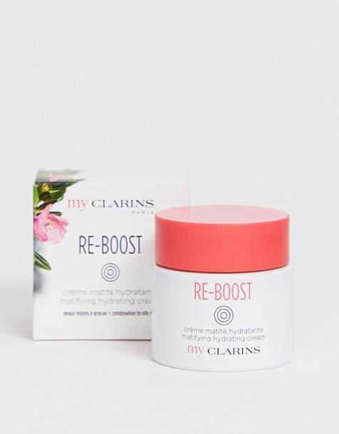 My Clarins RE-BOOST Mattifying Hydrating Cream For Oily Skin 50ml
