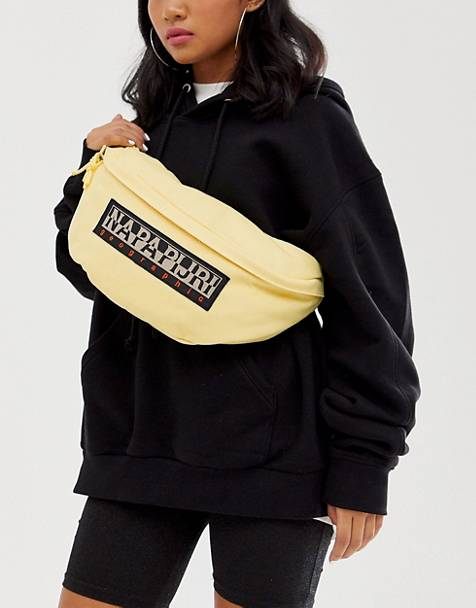 Napapijri Haset fanny pack in yellow