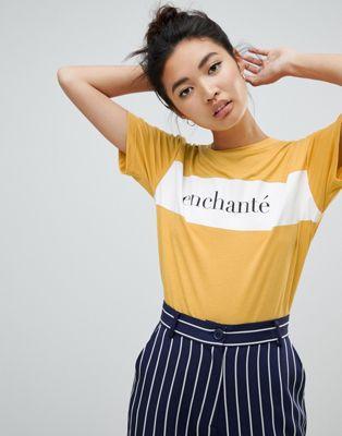 Image 1 sur Neon Rose - Enchante - T-shirt décontracté et imprimé