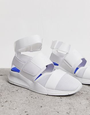 New Balance 247 white trainer sandals