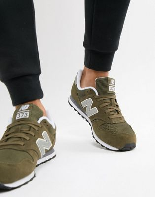 New Balance 373 Trainers In Green ML373OLV
